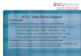 va national service desk acu after hours support it service desk national staff support 6