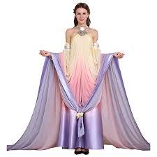 Pregnant Padme Halloween Costume Amazon Cosplaydiy Women U0027s Dress Star Wars Queen Padme