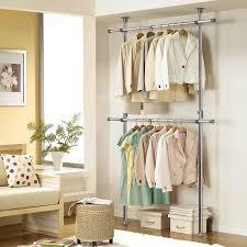 Cabinet Clothes Diy Storage Cabinet With Clothes Racks