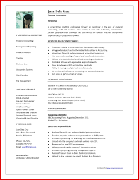 resume templates 2016 word inspirational accountant cv word format mailing format