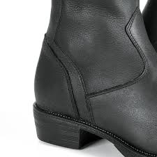 women s touring motorcycle boots stylmartin sharon women u0027s motorcycle boots black 24helmets