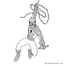 draw spider man u2013 drawing lessons