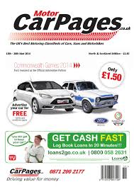 motor car pages north u0026 scotland 13th march 2014 by loot issuu