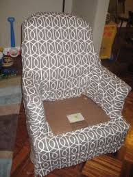 ikea barrel chair slipcover there was only a bit of matching