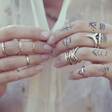 simple minimal fingers tattoos best design ideas