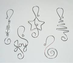 tree ornament hooks wire ornament by wireexpressions