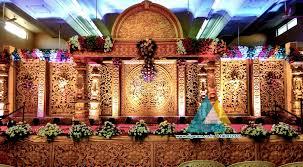 wedding stage decoration sri subhalakshmi mahal pondicherry