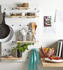 pegboard ideas kitchen peg board 3 creative styling tricks kmart 29 htons