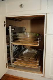 mdf elite plus plain door hazelnut corner kitchen cabinet storage