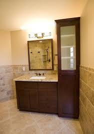 Bathroom Vanity With Linen Cabinet Incredible Bathroom Vanity Ideas For Small Bathrooms With Linen