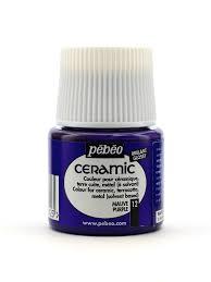 pebeo ceramic air dry china paint misterart com