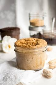 flourless peanut butter mug cakes are easy low carb single serve