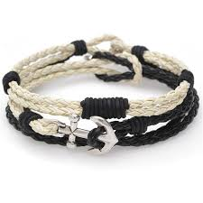 cord braid bracelet images Braided cord bracelet trio blk crm exclusive beadaholique jpg