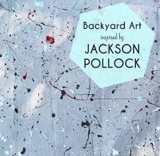 small friendly backyard art camp