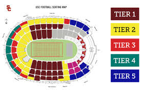Dodger Stadium Parking Map Los Angeles Memorial Coliseum Los Angeles Tickets Schedule
