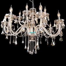 15 Light Chandelier Modern Ceiling Elegant Crystal Chandelier 15 Light Lamp Pendant