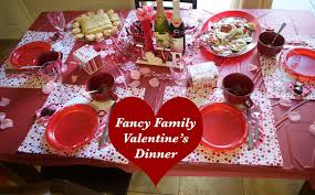 Valentine S Day Table Decorations by Emmy Mom One Day At A Time Family Friendly Valentine Dinner