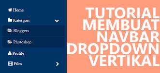cara membuat menu dropdown keren cara membuat menu navigasi vertikal dropdown dengan fungsi onclick