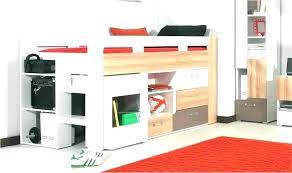 lit mezzanine avec bureau intégré meuble rangement avec bureau integre sous lit mezzanine placard pour