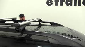 2013 Subaru Forester Roof Rack by Review Of The Thule Roof Rack On A 2012 Subaru Forester Etrailer
