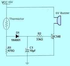 thermistor working principle with applications