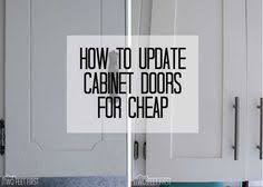 updating kitchen cabinets on a budget easypeasy grandma cabinet door redo she filled in the routed