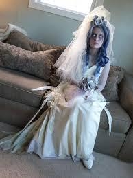 Dead Bride Costume Miss Havisham Costume The Dickensian Ghost Bride