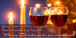 romantic christmas wishes quotes shayari for wife gf