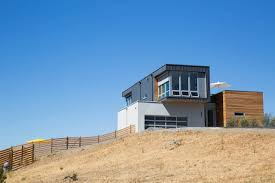 Prefab House by Fab Prefab House Overlooking Panoramas Of Sonoma U0027s Rolling Hills