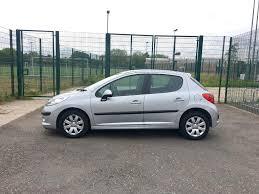 2008 peugeot 207 1 4 5 doors petrol manual silver new 12