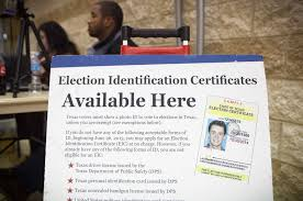 feds state clash over texas voter id law san antonio express news