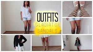 knee high gladiator sandals how to style 2014 summer