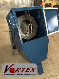 automatic sandblasting cabinet arclight dynamics