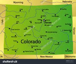 University Of Arizona Map State Map Colorado Arizona Map