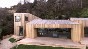 Coastal Home Design Studio Llc Four Larch Clad Volumes Make Up Coastal Holiday Cabin By Ar Design