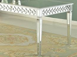 bassett mirror dining room furniture sophie mirrored dining table