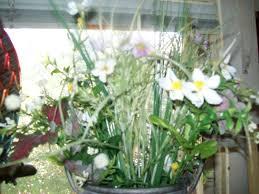 flower bucket flowers in a bucket flower arrangement home