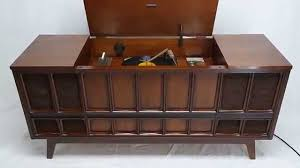 vintage record player cabinet values mid century modern zenith stereo record player console bluetooth 8