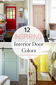 Interior Door Color 12 Charming Interior Door Colors To Inspire You Painted Confetti