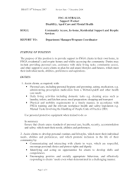 collection of solutions respite worker cover letter in family