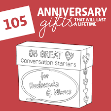 great anniversary gifts 105 anniversary gifts that will last a lifetime dodo burd