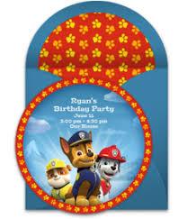 free paw patrol invitations punchbowl