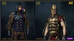 mardi gras gear new legendary spartan mardi gras gear in advanced warfare