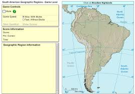 South America Rivers Map by Interactive Maps And Games History Makes Men Wise