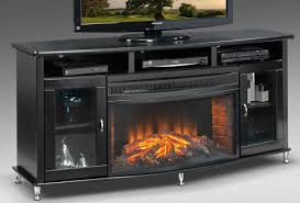 electric fireplace tv stand black home design inspirations