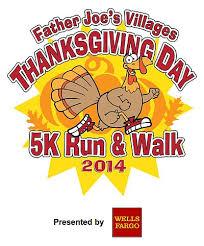 joe s villages thanksgiving day 5k run walk november 27