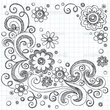 how to draw flower designs on paper mehndi drawing flower strip