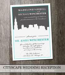 Wedding Reception Only Invitation Wording Wedding Reception Invitations Wording After Destination Wedding