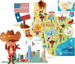 Map Dallas Texas by Cartoon Map Of Texas Stock Vector Art 482883545 Istock