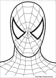 coloring fabulous spiderman print coloring pages